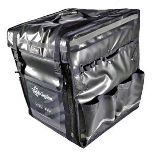 Mochila térmica contenedor en negro