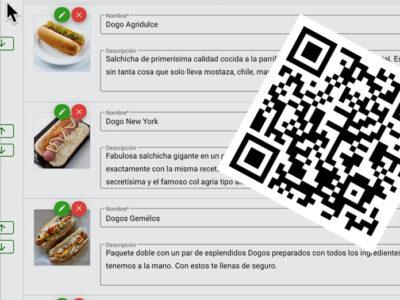 Como crear un menu digital con código QR
